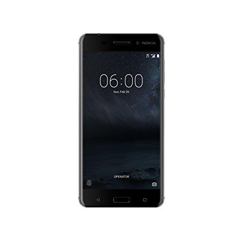 Nokia 6 Art Black Edition Smartphone, Memoria Interna da 64 GB, Dual SIM, Nero, Sistema Android