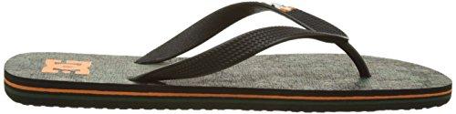 DC Shoes Herren Spray Graffik Zehentrenner Vert (Orange/Camo)