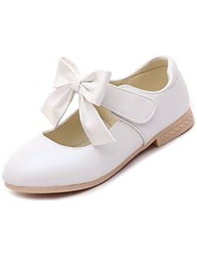 YOGLY Zapatos Princesa Para Niñas Merceditas Para Niña Zapatos Escolares/Fiesta 2018 Dulce Bowknot Zapatos Antideslizante