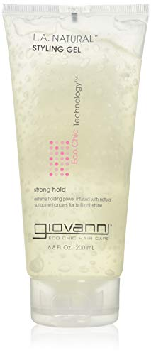 New - Giovanni L.A. Natural Styling Gel Strong Hold - 6.8 fl oz by Styling Needs - Extreme Hold Styling Gel
