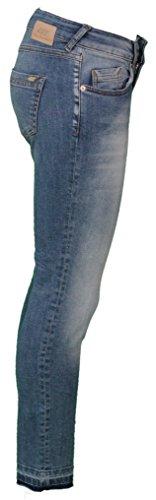 "ATT Amor, Trust & Truth Damen Cropped Jeans 7/8 Länge ""Leonie"" - air blue Blau"