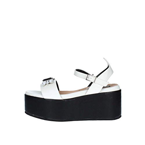 06 MILANO 0671 Sandalo Donna Bianco 40