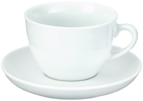 Esmeyer 433-213 6 Cappuccino-Tassen 0,30 ltr. mit Untertasse aus...