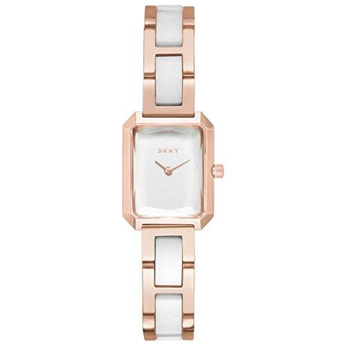 DKNY Damen Analog Quarz Uhr mit Edelstahl Armband NY2671