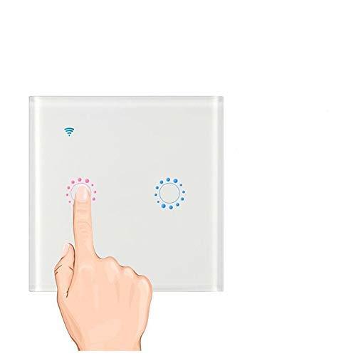FOONEE interruptores de luz inteligentes, interruptor de luz táctil WiFi, panel de...