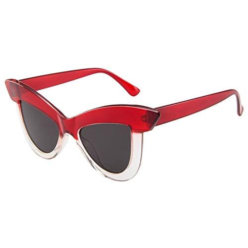 Amfirst Runde Retro Lennon Sonnenbrille Vintage Polarisierte Linsen Metall Gestell Rundbrille Outdoor-Brille für Frauen und Männer Frauen-Katzenauge-Sonnenbrille-Retro Brillen-Rahmen Eyewear oculos