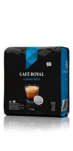Café Royal Lungo/Mild 36 Pads, 36 Pads kompatible Pads für Senseo (1 x 36 Pads)