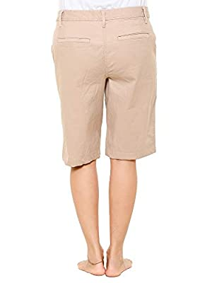 Twist Womens Solid Cotton Lycra Strech Shorts & Free Shipping