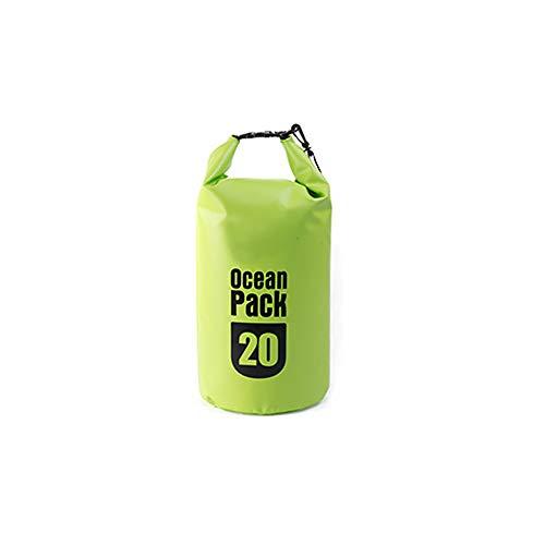 Schwimmende wasserdichte Packsack 500D 20L Schwimmende Dry Gear Taschen für Bootfahren/Kajakfahren/Angeln/Schwimmen und Camping