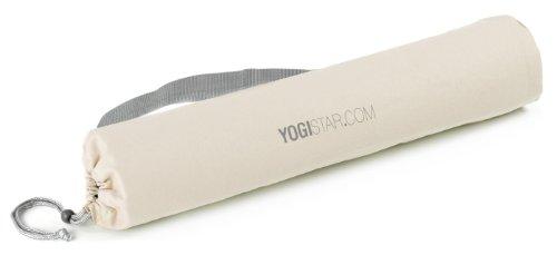 Yogistar Yogatasche Basic Logo, Naturweiß