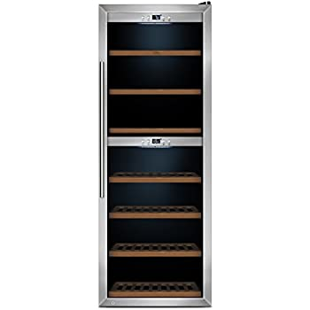 CASO WineComfort 126 Design Weinkühlschrank für bis zu 126 Flaschen ...