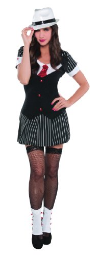 Kostüm Sexy Gangsterbraut (Klein)