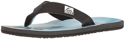 Reef REEF HT, Infradito uomo carbone / cielo azzurro