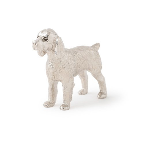 English Springer spaniel dog figure made in UK (japan import) by Alden Arts