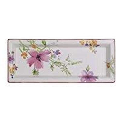 Villeroy & Boch Mariefleur Gifts Cazoleta rectangular, Porcelana Premium, Blanco/Colorido