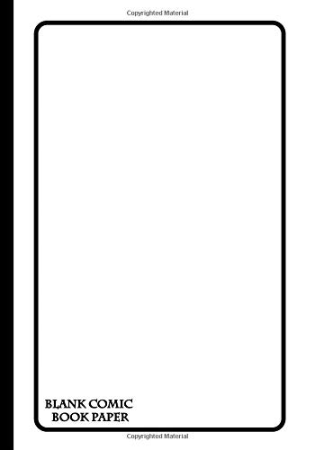 Blank Comic Book Paper: 7x10 Inch   28 Template Pages   12 Unique Layouts   Perfect for ALL Skill Levels!   Fan Art, Comic Strip, Story Boards (Comic Book Storyboard Notebooks, Band 1) Paisley Boys Band
