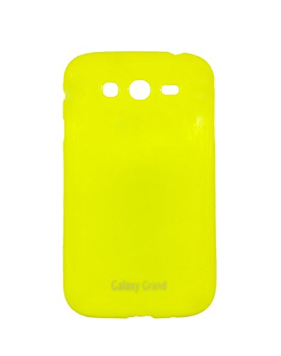 iCandy Soft TPU Shiny Back Cover For Samsung Galaxy Grand I9082 / Grand Neo 9060 - Yellow  available at amazon for Rs.99