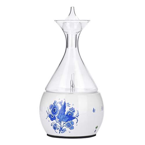 Aromatherapy Diffusor Vernebler aus Keramik und Glas. Wasserloser Reiner ätherischer Ölnebel für bis zu 4 Stunden; Professioneller, Reiner Duftöldiffusoren