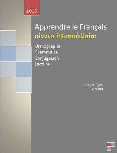 Livres Gratuits Apprendre Le Francais Niveaux Intermediaire