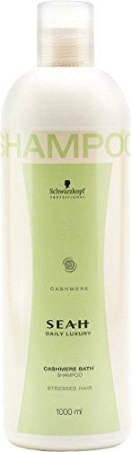 Schwarzkopf Seah Daily Luxury - Cashmere Bath - Shampoo, 1er Pack (1 x 1000 ml)