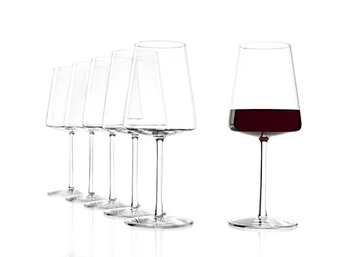 Stölzle Lausitz Power Rotweinkelch 517 ml, 6er Set Rotweingläser, spülmaschinenfest, bleifreies Kristallglas, hochwertige Qualität, elegant und bruchbeständig