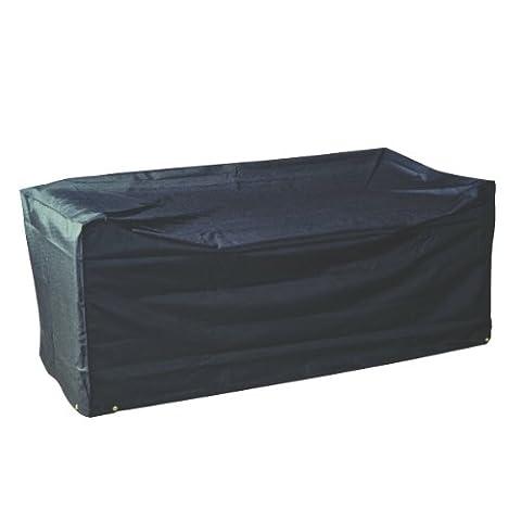 Housse de protection large pour canapé de jardin 3 places