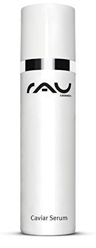 RAU Caviar Serum 50 ml - Soin visage hydratant régénérant. Sérum visage pour les peaux sèches et les peaux matures. Concentré visage, affine les pores et agit rehydratant.