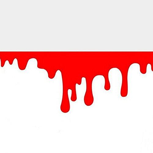 Auto Coole Auto Aufkleber Rotes Blut DIY Körper Logo Abzeichen Auto Styling Aufkleber Auto Abdeckung Persönlichkeit Auto Zubehör (Das Blut-lied)