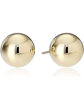 JEWELS Fashion Edelstahl glänzend gold Farbe Ball Ohrstecker