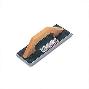 31FeB5pBHtL. SS300  - Rubi 65976 Llana de goma para juntas con mango de madera, MarrÓn