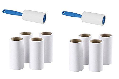 Ikea 2 Fusselrollen BÄSTIS + 8 Ersatzrollen