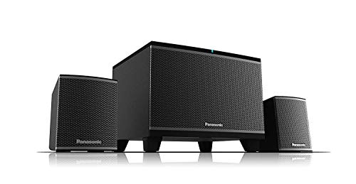 Panasonic SC-HT19 2.1 Channel Bluetooth Speaker System(Black)