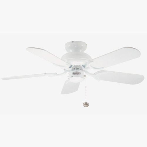 31FeFMkeCVL. SS500  - Fantasia Capri Ceiling Fan 36in White
