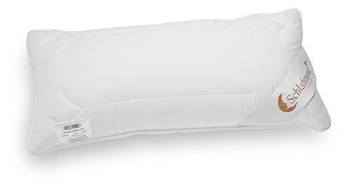 *Schlafmond Märchenweich Naturfaser Aloe Vera Kopfkissen, Kopfpolster Baumwolle waschbar 60 Grad (40 x 80 cm)*