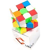 CUBIXS® 3x3 Zauberwürfel - Hochwertiger Speedcube ohne Sticker - für Anfänger und Fortgeschrittene