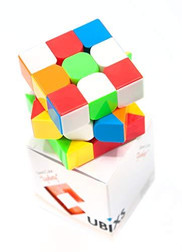 CUBIXS® Zauberwürfel 3x3 - Typ Sydney - ohne Sticker - Speedcube mit optimierten Eigenschaften für Speed-Cubing