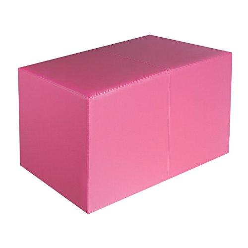 Sitzbank pink Maße: 85 cm x 43 cm x 48 cm