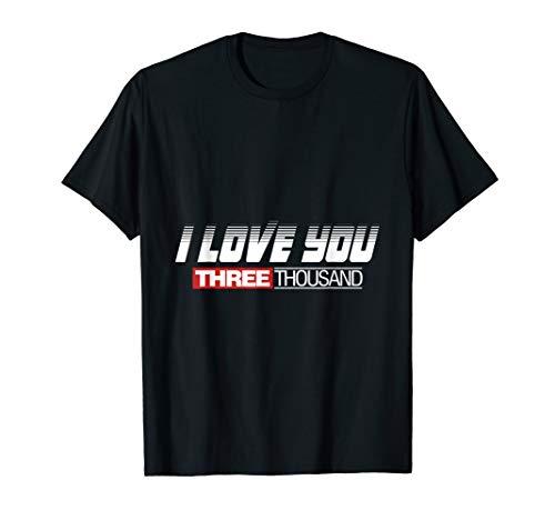 Ich Liebe Dich 3000! Stark Film Held Iron Süß T-Shirt