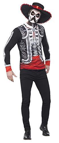 Smiffys 44933S - Herren Tag der Toten El Senor Kostüm, Größe: S, ()