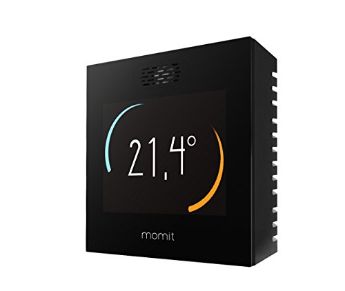 Momit MOMITSTBV2 Smart Thermostat, Nero