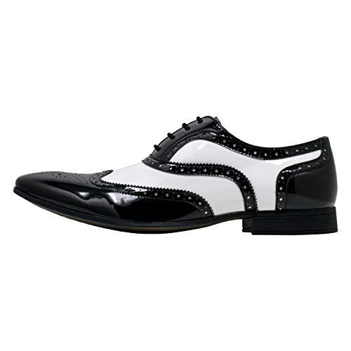 Smokies Hombres Zapato Novia George sintético Zapatos