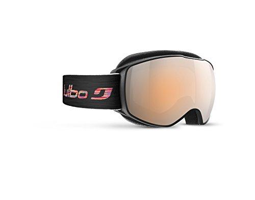 Julbo Echo Jungen Skibrille, Schwarz (Black/Multicolor/Red), S