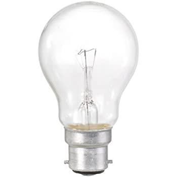 Stllion Clear Classic A GLS Light Bulbs Bayonet Cap Incandescent Lamps