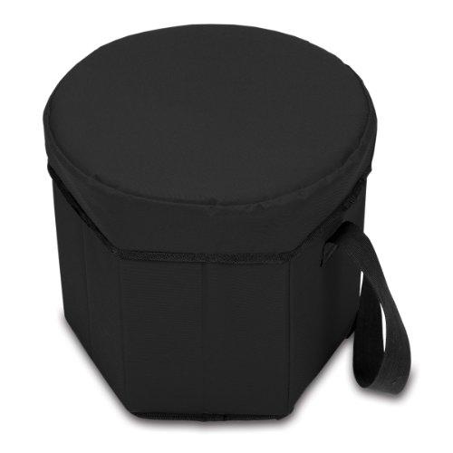 picnic-tiempo-bongo-refrigerador-aislante-plegable-negro