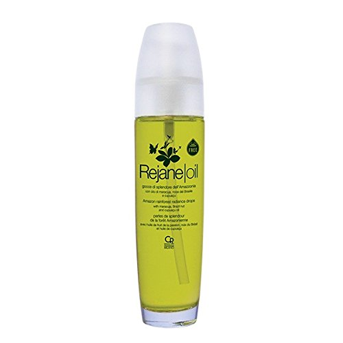 Rejane Oil Gocce di Splendore dell'Amazonia Huile avec traitement instantané adoucissant et hydratant pour les cheveux fatigués et abîmés Protège des frisottis 100 ml