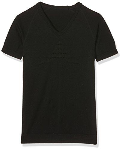 X-Bionic Erwachsene Funktionsbekleidung Man Energizer Summerlight Tone UW Shirt SH SL V Neck, Black, L/XL, I100325