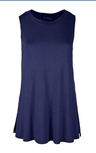 Sugerdiva - Robe - Chemise - Femme Noir noir 23-46 Bleu Marine