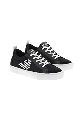 Emporio Armani , Jungen Sneaker blau, blau - Größe: 39 EU