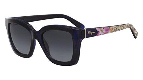 Salvatore ferragamo -  occhiali da sole  - uomo blu blu