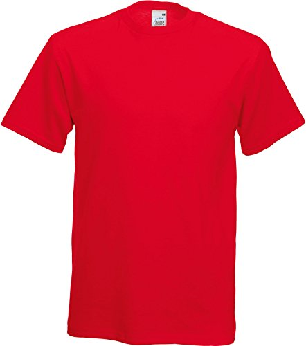 Fruit of the Loom T-Shirt 'Original Full Cut' 61–082–0 Rot / Rot